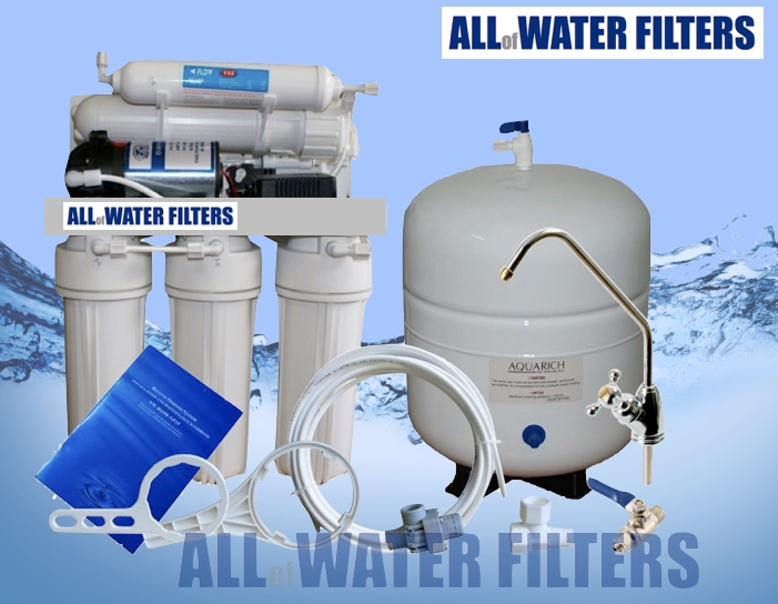 5-stage-reverse-osmosis-purifier-with-pump-&amp-steel-tank