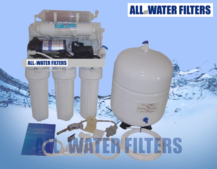 7-stage-reverse-osmosis-purifier-with-pump-&amp-steel-tank