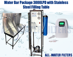 water-bar-package-3000lpd-with-stainless-steel-filling-table